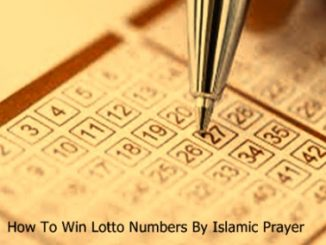 Istikhara For Lottery Numbers